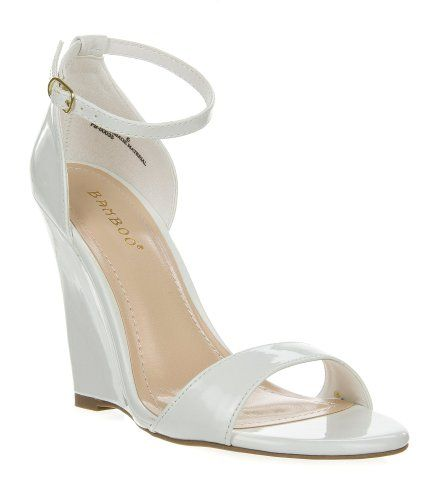 Amazon.com: Promise Women&39s HAZELL Patent Open Toe Ankle Strap