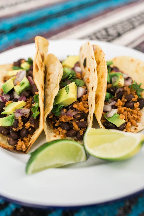 Vegan tacos, Easy camp and Tacos on Pinterest