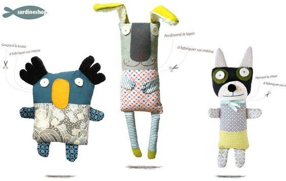 Kits para hacer tu muñeco doudou