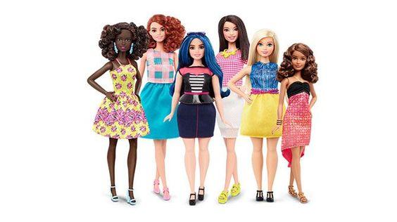 Barbie raakt voortaan niet meer in haar (te) smalle jurk: