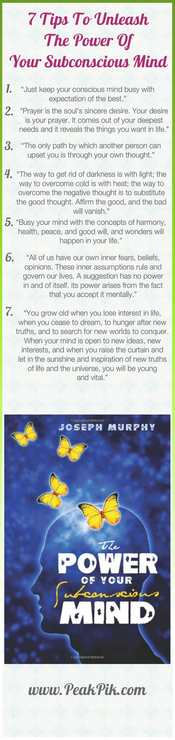 Daily Tips And Motivation   Power Of Positive Thinking-How To Unleash Your Subconscious Mind's Pow