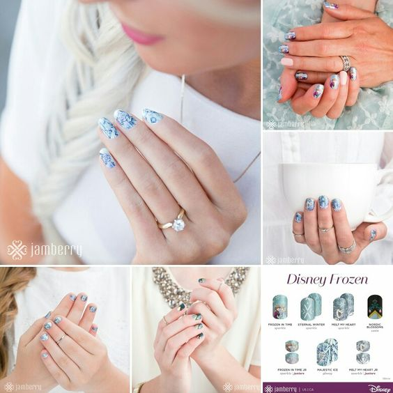 YES!!! Live on our site we now have #FROZEN nail wraps!! Available for you and your little ladies! Check out this beautiful Disney Collection by Jamberry! Oh and bonus - these qualify for Buy 3 Get 1FREE!! JamwithElvira.com ❤ #letitgo #frozen #girl #daughter #mommy #olaf #disneycollection #disneyfan #disney #mani #manicure #nailart #nailinspiration #love #deal #exclusive