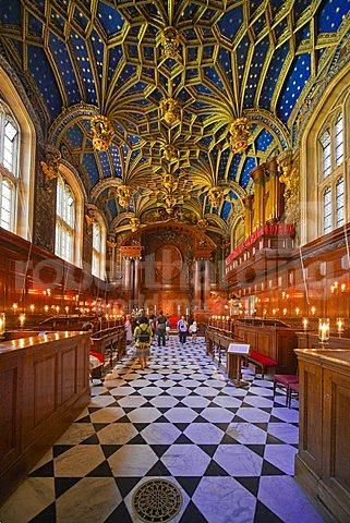 hampton court palace interior/images | 779-229 - Chapel Royal, Hampton Court Palace, Surrey, England, United ...: