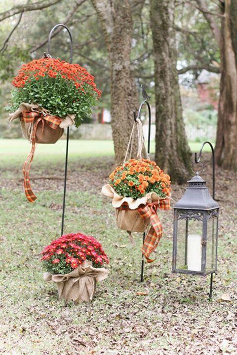 47 Enchanting Fall Garden Wedding Ideas | HappyWedd.com