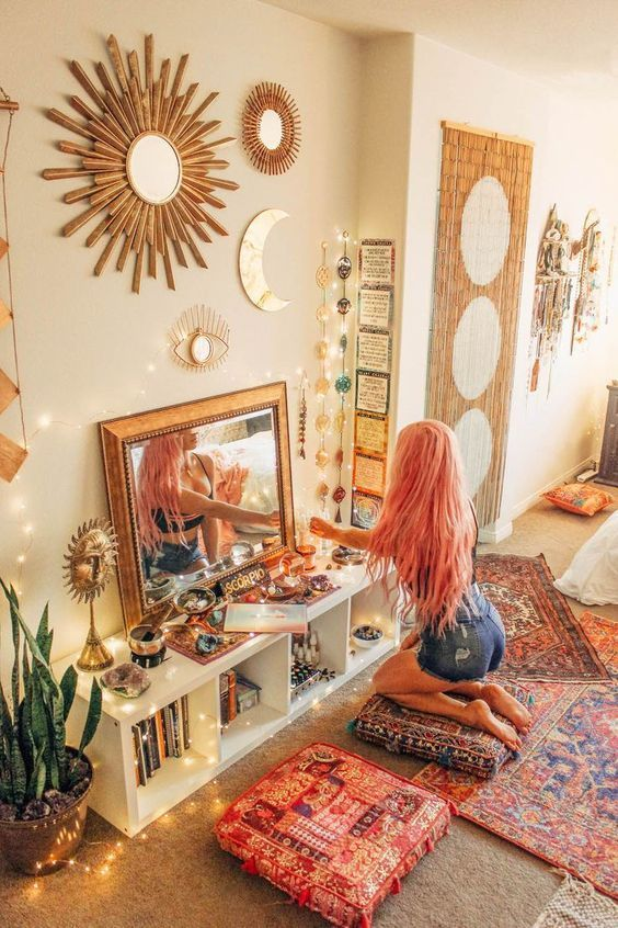 How To Create Your Own High Vibe Sacred Space Hippy Bedroom
