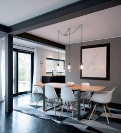 peinture salon gris et taupe 15 peinture salle a manger moderne con ...