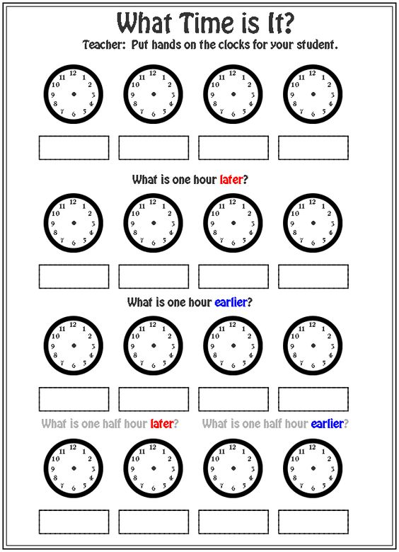 Time Worksheets time worksheets one hour later : What Time is It? Worksheet | Fun with Math | Pinterest ...