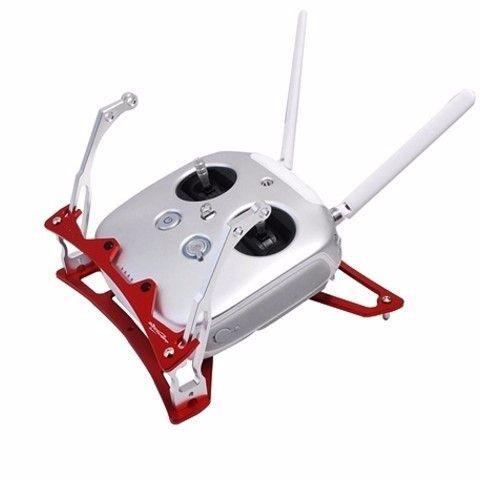 Transmitter Tray for the DJI Phantom 3 Transmitter Red