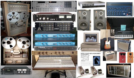 1987 Recording equipment (Generic Photo Montage)