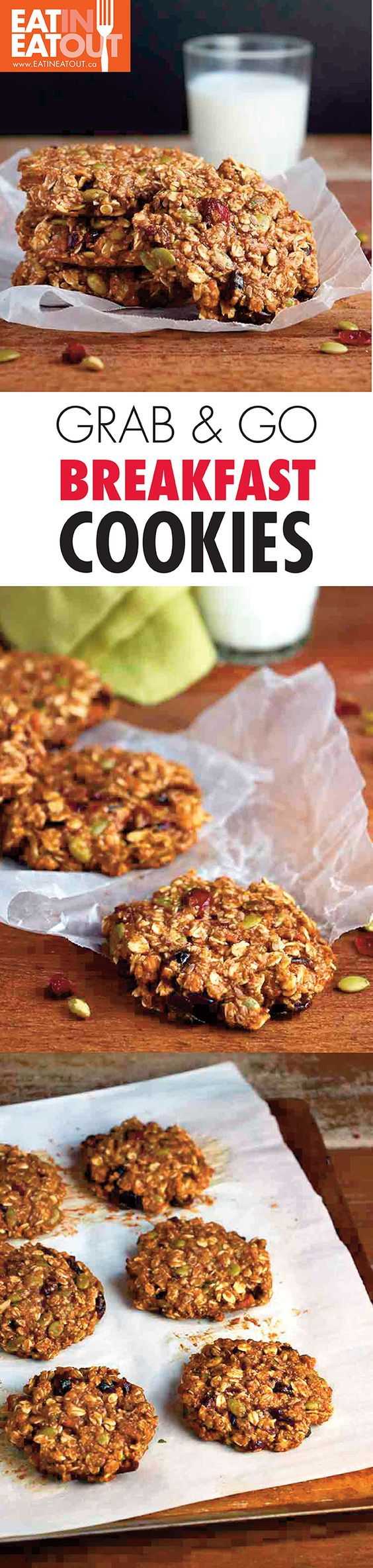 Healthy breakfast when you just have to grab it and go!  Use trivia brown sugar to lighten it up