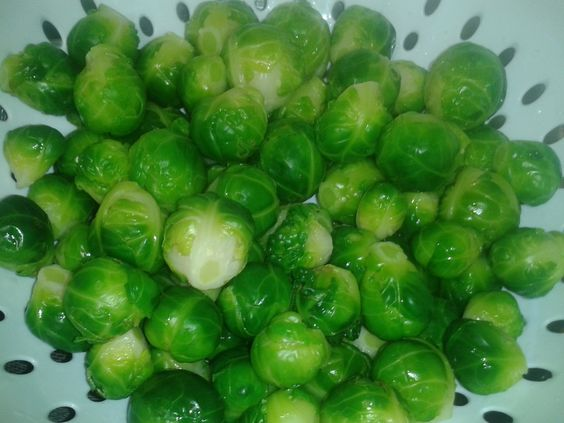 Prepping Brussel Sprouts For Freezing