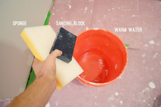 How To Tape Mud And Sand Drywall With Images Drywall Drywall Tape Drywall Installation