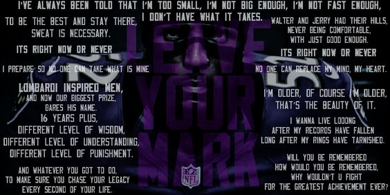 Ray Lewis - Madden 13 Intro Speech