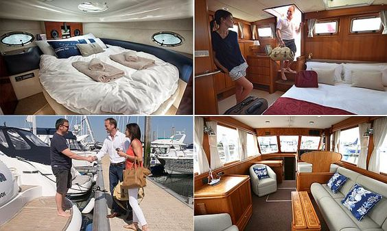 Beds on Board offers overnight stays on luxury yachts
