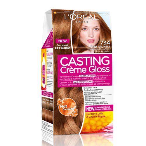Haarkleuring 734 Honey Crumble Haarkleur Haarkleur Veranderen Kleuring