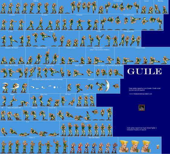 Super Street Fighter 2 - Guile