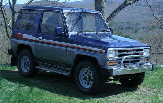 89 Toyota Blizzard Sx5 Turbodiesel Never Seen One But