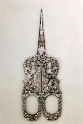 Scissors (Sheffield), c.1840. These would be great for my granny's sewing tattoo. I wanted to get a sewing tattoo in her memory and thought a great pair of scissors would be cool.