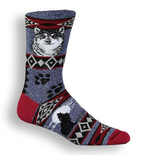 The Joy of Socks - Wolf Blanket Socks (Men's), $10.50 (http://www.joyofsocks.com/wolf-blanket-socks-mens/)