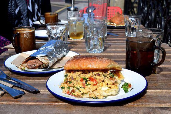 Breakfast at Babu Bombay Street Kitchen, Glasgow | www.rachelphipps.com @rachelphipps
