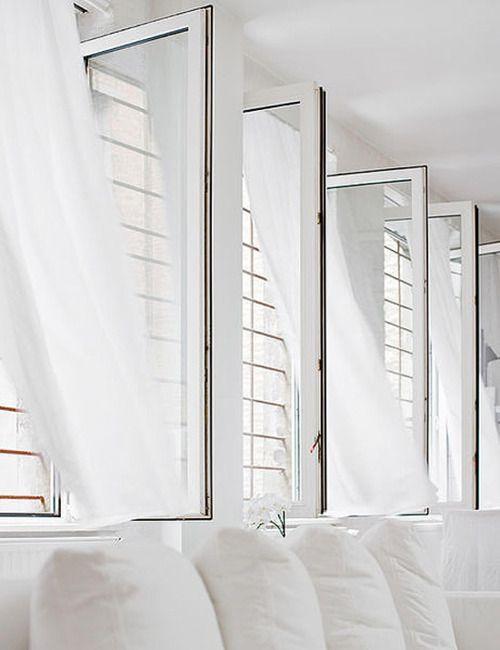 white. clean. architecture