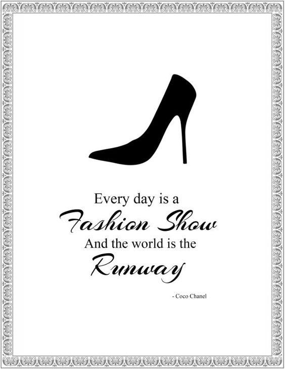 Fashion Wall Art Printables Poster