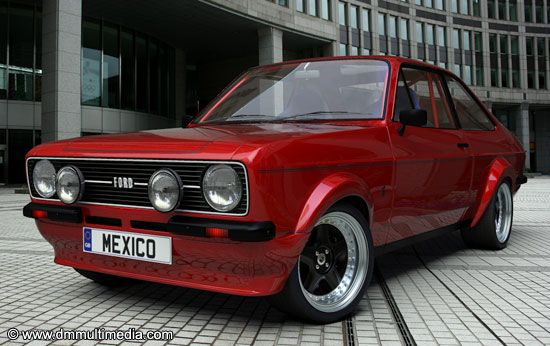 Escort MK2 Mexico Red