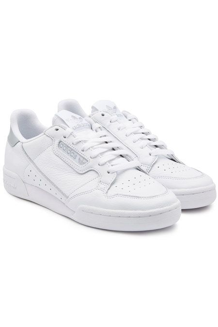 Adidas Originals - Continental 80 Leather Sneakers - white ...