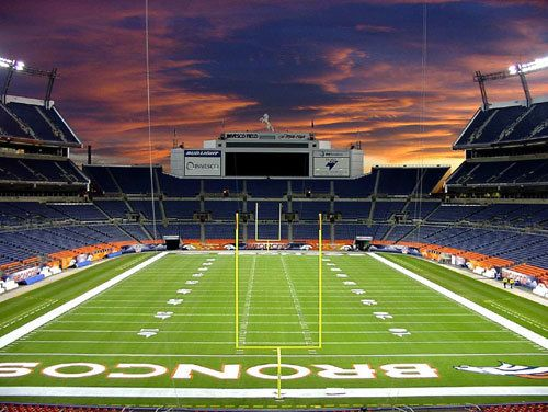 Sports Authority Field at Mile High Stadium, Denver, CO. Check!