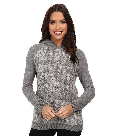 Calvin Klein Jeans Calvin Klein Jeans  Plush Pullover Hoodie Chrome Heather Womens Sweatshirt for 55.99 at Im in!