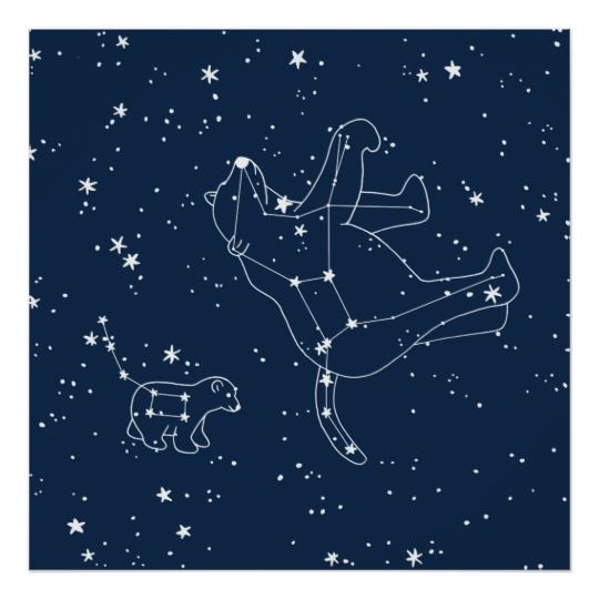 Lupus Wolf Constellation Metallic Christmas Tree Decoration tree ornament astronomy wolf
