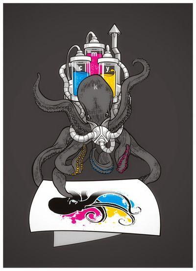 polvo impressora