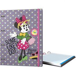 #CarpeBloc de la colección #dots de #MinnieMouse para #Grafoplás