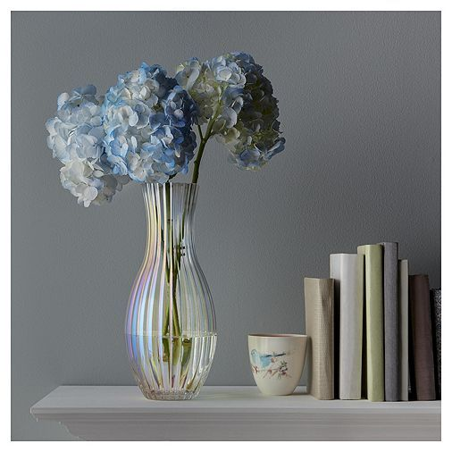 Tesco Direct Fox Ivy Lustre Ribbed Vase Home Accessories Colorful Decor Vase