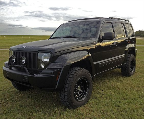 lifted 2008 jeep wrangler limited | Jeep Liberty Lifted Pictures