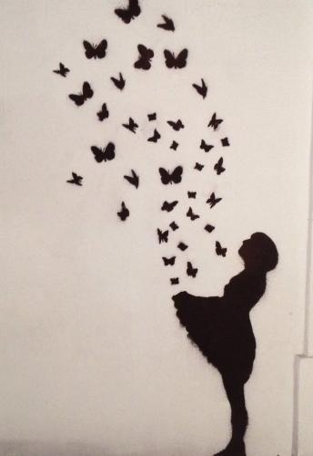 Schmetterlinge.