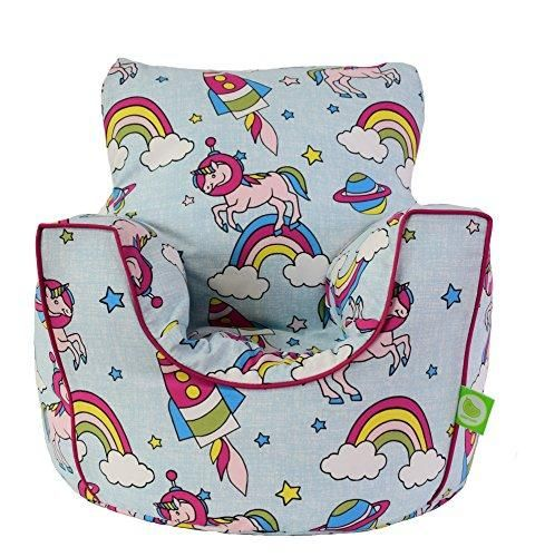 Excellent Ultimate Unicorn Pastel Rainbow Bean Bag Arm Chair With Beatyapartments Chair Design Images Beatyapartmentscom