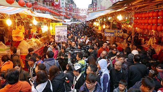 Đi chợ sắm tết ở Đài Loan