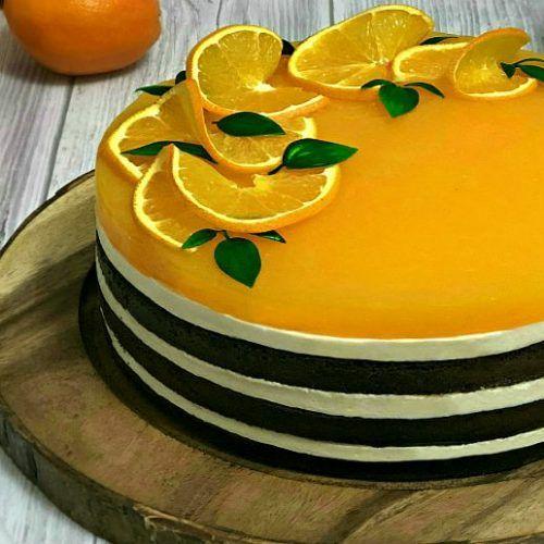 Tort Fanta Cu Suc De Portocale Si Branza De Vaci Adygio Kitchen Recipe Pastry Food Cake