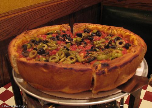 Chicago deep dish pizza is making me crazy!