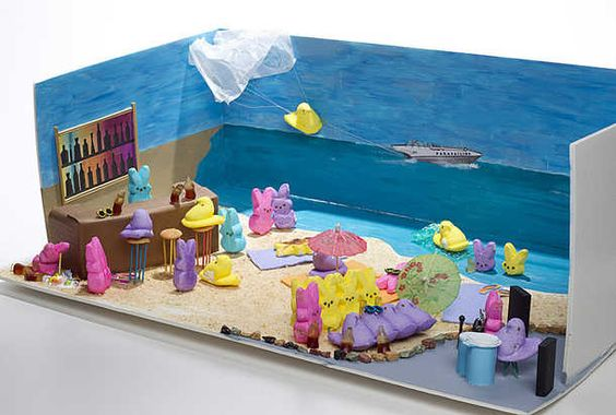 maybe I'll do a PEEPS diorama for Easter