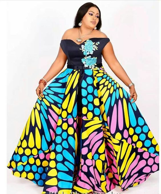 2019 Ankara Styles for Beautiful Chubby Ladies