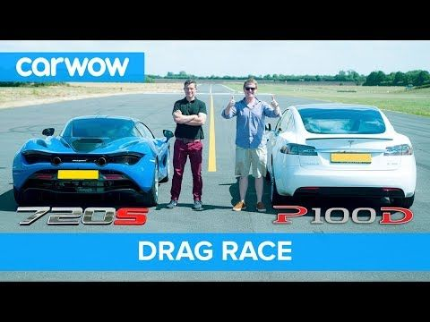 Tesla Model S P100d Vs Mclaren 720s Drag Race Rolling Race Brake Test Mat Vs Shmee Pt 4 4 Youtube In 2020 Tesla Model S Tesla Model Drag Race