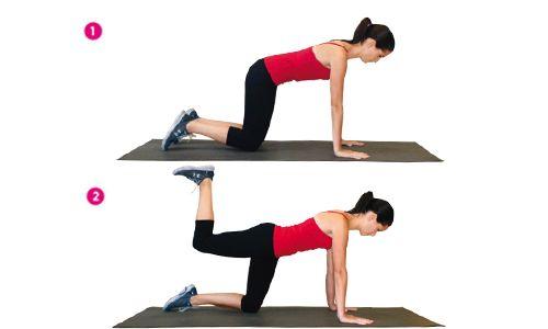 Ejercicios preliminares para acabar con el síndrome del culo vago | Fitness | Women's Health