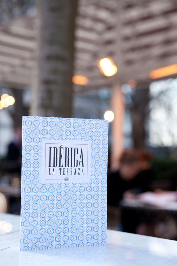 Ibérica La Terraza branding