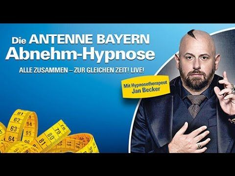 Antenne Bayern Abnehm-Hypnose das Radioexperiment abnehmen durch Hypnose...