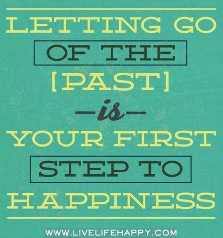 Letting go ...