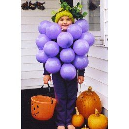 Disfraz de uvas: