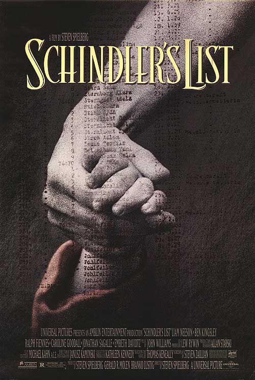 """""""Schindler's List"""", epic historical war drama film by Steven Spielberg (USA, 1993) Amazing film!"""
