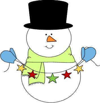 Cute Snowman Clip Art